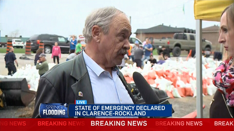 CTV Ottawa: State of emergency in Clarence-Rockla