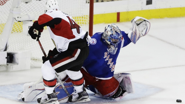 Henrik Lundqvist leads Rangers in win over Sens