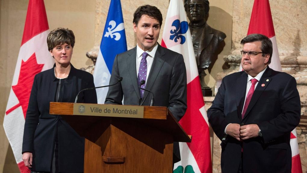 PM Trudeau in Montreal