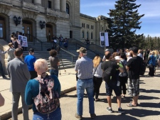 Rally for more mental health supports in Sask.