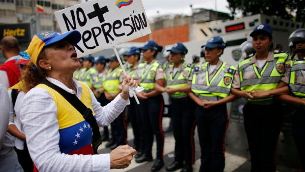 Women March Saturday in Ongoing Protests Against Venezuela's Maduro