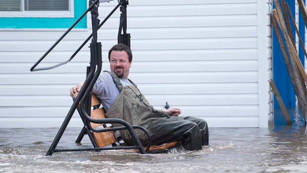 Canadians capture soggy sights in waterlogged cities