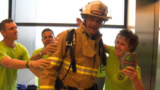 CFD Chief Dongworth - The Bow stairclimb