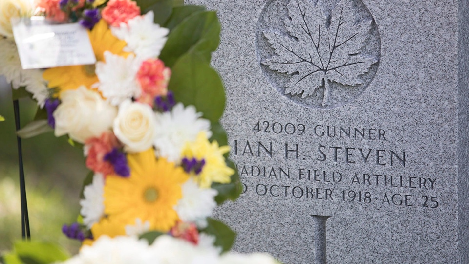 Image result for 100 years later, Toronto genealogists help soldier's family find his burial site