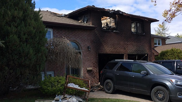 Bradford Home Destroyed In Fire Ctv Barrie News