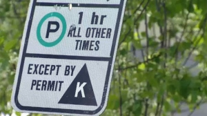 A city committee is considering a recommendation to charge for residential parking in Calgary. (File photo)