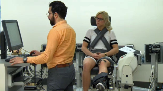 Research at the Schulich School of Engineering aims to help people avoid joint injuries.