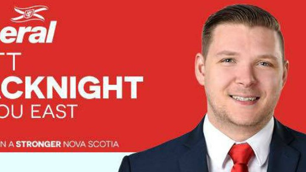 Nova Scotia Liberal candidate Matthew MacKnight (Nova Scotia Liberal Party)