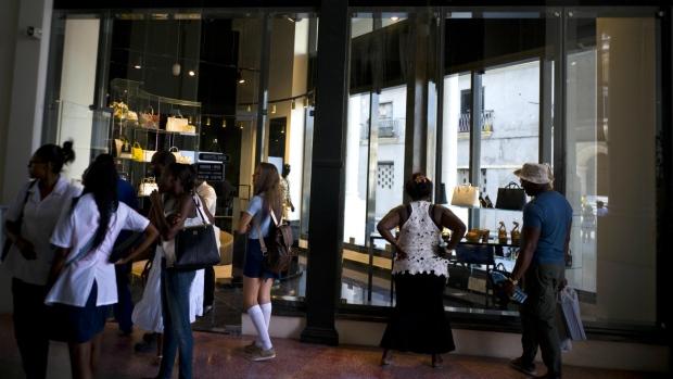 18b931f761ba6b Cuba opens first luxury mall