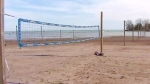 Volleyball season kicks off Tuesday night at Woodbine Beach, but only 31 courts of more than 100 are ready to be played on due to floodwaters. (CP24)