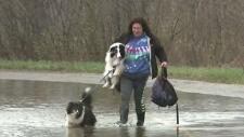 CTV Atlantic: N.B. community feeling cut off