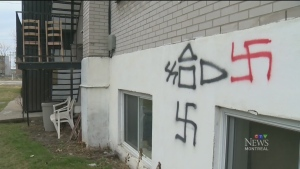 Antisemitic hate crimes spiked in 2017, according to B'Nai Brith | CTV News
