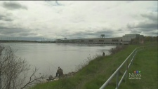 The Moses-Saunders dam