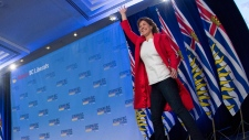 B.C. Liberal leader Christy Clark in Vancouver