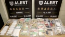 Member of ALERT Lethbridge and the Lethbridge Police Service have arrested five people in connection with a drug seizure and child endangerment case.