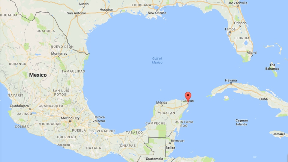 Cancun On A Map Armed bar attack kills 5, wounds 5 more in Mexico's Cancun | CTV News