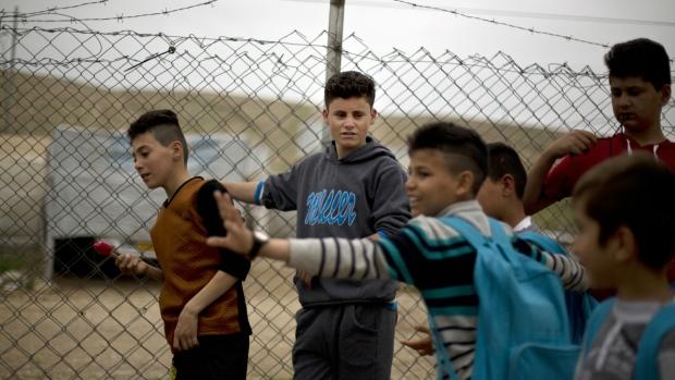 Yazidi boys discuss ISIS torture