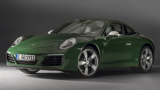 Porsche 911 hits a big milestone as millionth model is built