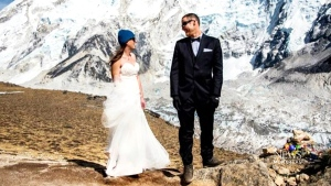 CTV Montreal: Marrying on Everest