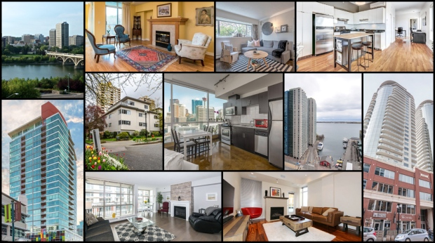 From a waterfront unit with hardwood floors in Halifax to a two-bedroom corner suite with panoramic views of downtown Calgary, CTVNews.ca's Lorena Rosati  takes a look at what's available now in major markets across the country.