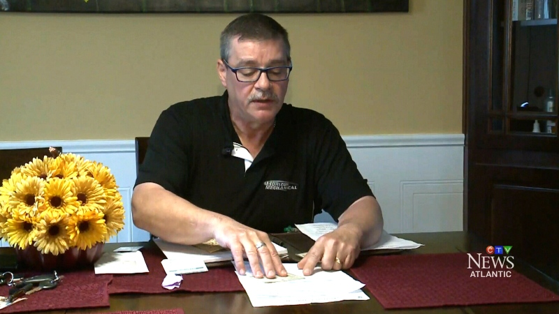 Michael Richard, 56, says he has never received his birth certificate, and is being denied a driver's license.