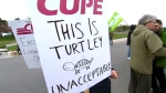 toronto zoo, protest, cupe