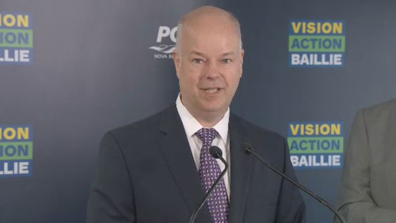 Progressive Conservative Leader Jamie Baillie is promising to spend $1.75 million a year on a unique medical centre for veterans that would be led by former military members.