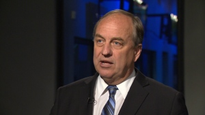 BC Green Leader Andrew Weaver says he hasn't spoken to either the NDP or Liberals about an official coalition. May 12, 2017. (CTV Vancouver Island)