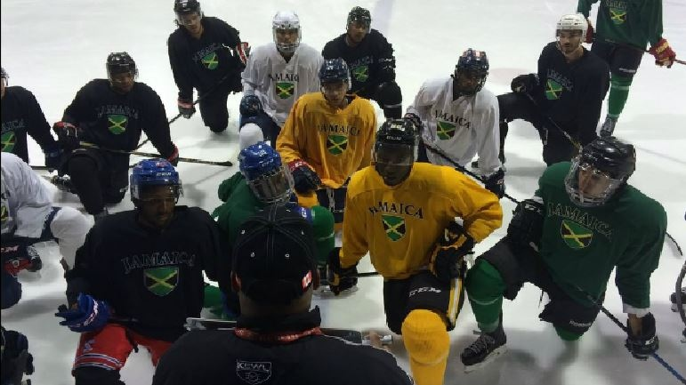 Jamaican Under 20 National Ice Hockey Team (CTV)