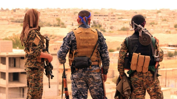 Activists say Kurdish-led forces advance on IS-held Raqqa
