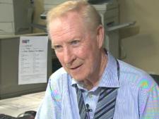 CTV's weather specialist Dave Devall