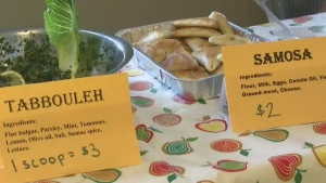 A group of Syrian refugee women have started a monthly market in Saint John, N.B. (CTV Atlantic)