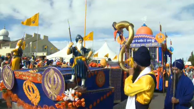 Parade Celebrates Calgary S Sikh Community Ctv News