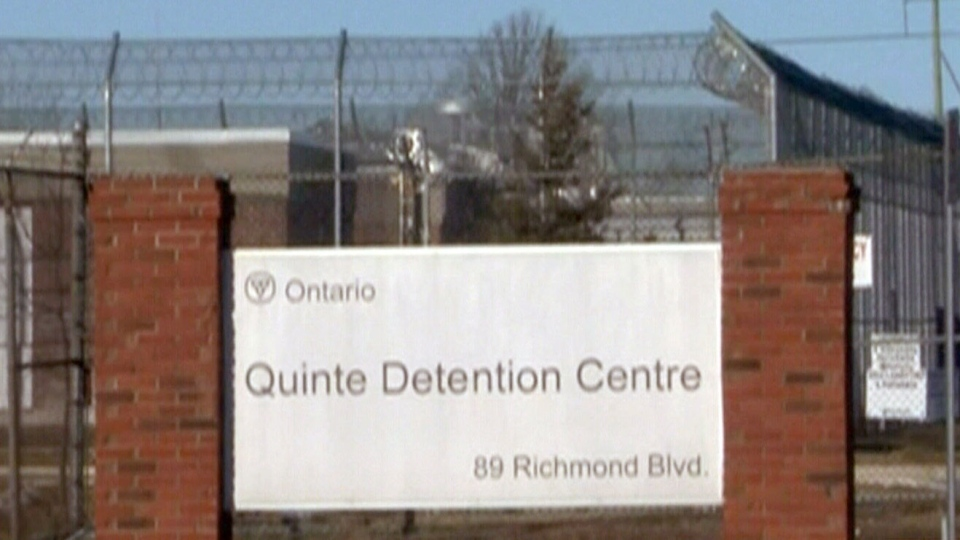 Inmates claim there have been fentanyl-related overdoses at the Quinte Detention Centre. (CTV News)