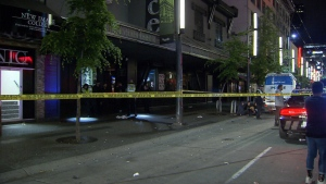 Police are investigating after an altercation at Caprice Nightclub on Granville Street at 3 a.m. Sunday. (CTV)