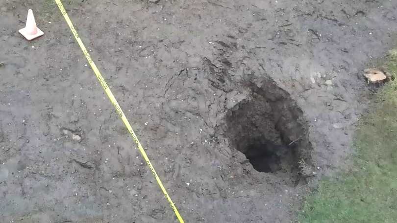 CTV Atlantic: Sinkhole growing in Glace Bay