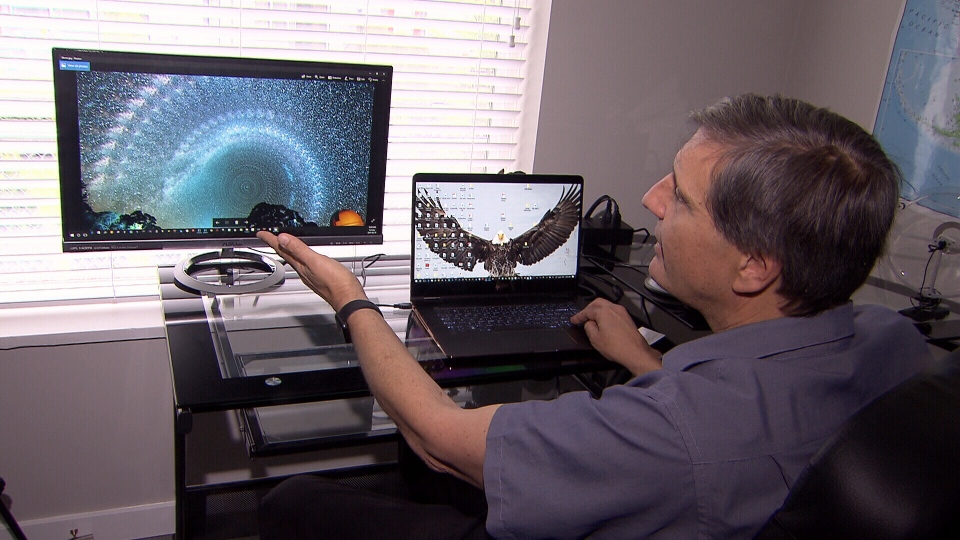 Christian Sasse explains how he created the image of the Milky Way that went viral this week. (CTV)