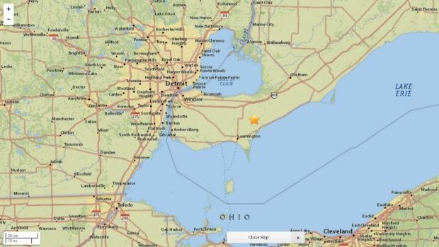 Leamington earthquake