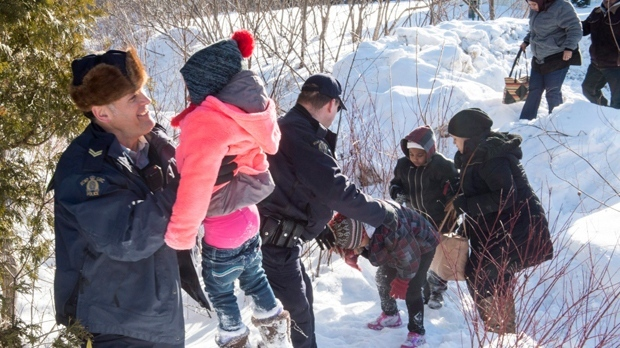 Asylum claims, RCMP interceptions down slightly in April