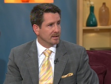 Kevin Gaudet, federal director of the Canadian Taxpayers Federation, appears on CTV's Canada AM, Thursday, March 26, 2009.