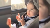 What's Trending: Toddler waits for the beat to dro