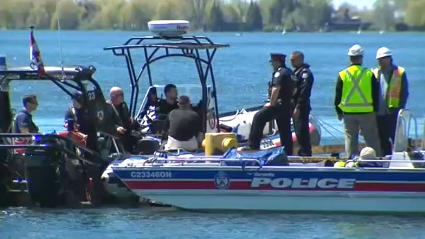 Woman tries to rescue swimmer in Lake Ontario