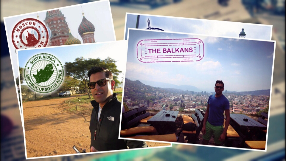 Shane Buksh has travelled to 79 countries, chasing miles to maintain his elite status. (CTV)