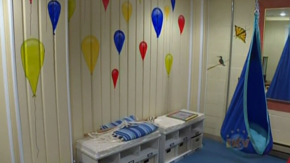 The Hotel Port aux Basques' sensory room is part of the hotel's mission to cater to families with children on the autism spectrum. (NTV News)