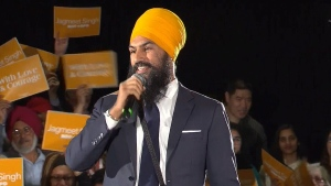 Ontario MPP Jagmeet Singh launched his campaign to lead the federal New Democrats on May 15, 2017.