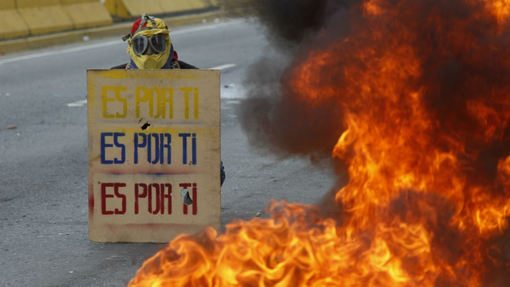 Protests in Venezuela turn deadly