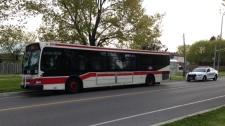 TTC, bus, stolen