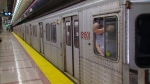 The man was reportedly seen swinging an axe in Spadina Subway Station in Toronto.