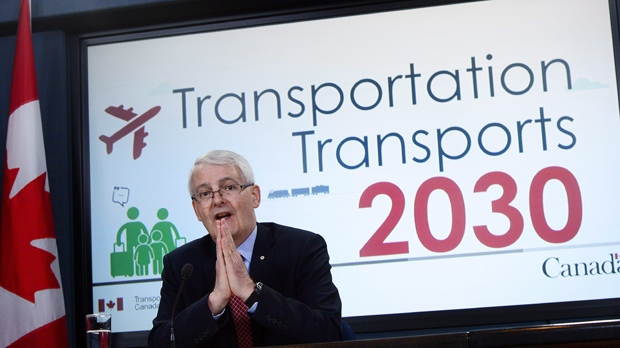 Transportation Minister Marc Garneau promised the bill of rights last month in the wake of widespread alarm after a United Airlines passenger was seriously injured when he was dragged from a plane in Chicago. (Source: Sean Kilpatrick/The Canadian Press)