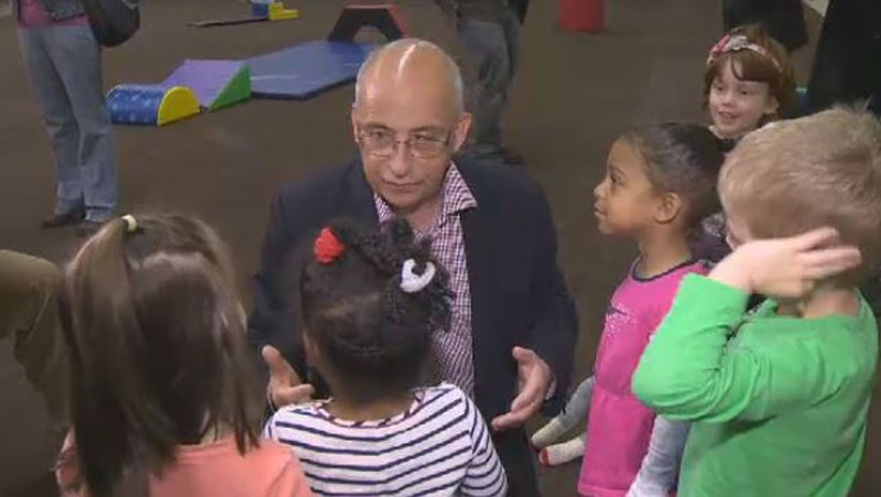 Nova Scotia NDP Leader Gary Burrill says, if elected, his party would provide free child care to families whose net income is less than $30,000 annually.